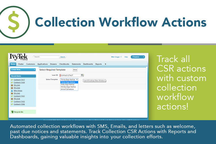Collection Workflow Actions